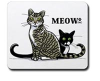 Meow Inc Mousepad